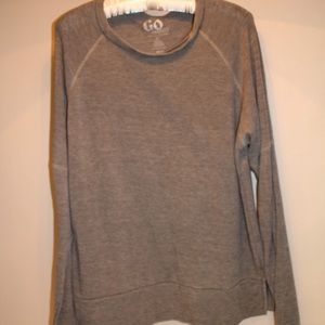 Go Couture - Gray Long-Sleeve Shirt (XL)